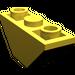 LEGO Yellow Slope 45° 3 x 1 Inverted Double (2341)