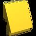 LEGO Yellow Sloped Panel 6 x 4 x 6