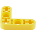 LEGO Yellow Technic Beam 3 x 3 x 0.5 Beam Bent 90 (32056)