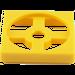 LEGO Yellow Turntable 2 x 2 Plate Base (3680)