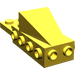 LEGO Yellow Wedge 2 x 3 with Brick 2 x 4 Side Studs and Plate 2 x 2 (2336)