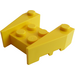 LEGO Yellow Wedge Brick 3 x 4 with Stud Notches (50373)
