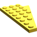 LEGO Yellow Wing 4 x 8 Left with Underside Stud Notch