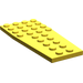 LEGO Yellow Wing 4 x 9 without Stud Notches