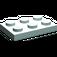 LEGO Aqua Plate 2 x 3