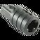 LEGO Black Hinge Arm Locking with Single Finger and Axlehole (30552)