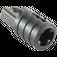 LEGO Black Hinge Arm Locking with Single Finger and Axlehole (30552 / 53923)