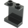 LEGO Black Panel 1 x 2 x 2 without Side Supports, Hollow Studs (4864)