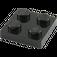 LEGO Black Plate 2 x 2 (3022)