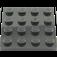 LEGO Black Plate 4 x 4 (3031)