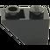 LEGO Black Slope 1 x 2 (45°) Inverted (3665)