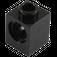 LEGO Black Technic Brick 1 x 1 with Hole (6541)
