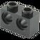 LEGO Black Technic Brick 1 x 2 with 2 Holes (32000)