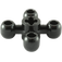 LEGO Black Technic Four Knob Gear (32072)