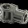 LEGO Black Technic Through Axle Connector with Bushing (32039)