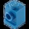 LEGO Blue Brick 1 x 1 with Headlight and Slot (4070)