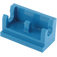LEGO Blue Hinge 1 x 2 Base (3937)