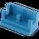 LEGO Blue Hinge 1 x 2 Base (3937)