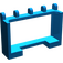 LEGO Blue Hinge Car Roof Holder 1 x 4 x 2 (4214)
