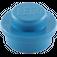 LEGO Blue Plate 1 x 1 Round (6141)