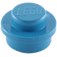 LEGO Blue Round Plate 1 x 1 (6141)