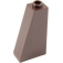 LEGO Dark Brown Slope 75 2 x 1 x 3 with Hollow Stud (4460)