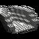 LEGO Dark Gray Boat Stern 12 x 14 x 5 & 1/3 Hull Inside (6053)