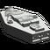 LEGO Dark Gray Egyptian Coffin Lid (30164)