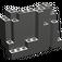 LEGO Dark Gray Panel 4 x 10 x 6 Rock Rectangular (6082)