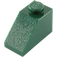 LEGO Dark Green Slope 45° 1 x 2 (3040)