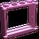 LEGO Dark Pink Window 1 x 4 x 3 with Shutter Tabs