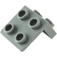 LEGO Dark Stone Gray Bracket 1 x 2 - 2 x 2 (21712 / 44728 / 92411)