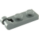 LEGO Dark Stone Gray Plate 1 x 2 with Handle (Closed Ends) (60478)