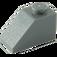 LEGO Dark Stone Gray Slope 45° 1 x 2 (3040)