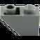 LEGO Dark Stone Gray Slope 45° 2 x 1 Inverted (3665)
