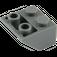 LEGO Dark Stone Gray Slope 45° 2 x 2 Inverted (3660)