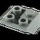 LEGO Dark Stone Gray Slope 45° 2 x 2 Inverted (3676)