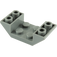 LEGO Dark Stone Gray Slope 45° 4 x 2 Double Inverted with Open Center (4871)