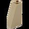 LEGO Dark Tan Slope 75 2 x 1 x 3 with Hollow Stud (4460)