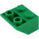 LEGO Green Slope 45° 2 x 2 Inverted (3660)