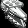 LEGO Light Gray Tail 4 x 2 x 2 with Rocket (4746)