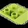LEGO Lime Slope 2 x 2 (45°) Inverted (3660)