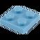 LEGO Medium Blue Plate 2 x 2 (3022 / 94148)