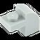 LEGO Medium Stone Gray Brick 1 x 2 x 1.33 with Curved Top (6091)