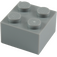 LEGO Medium Stone Gray Brick 2 x 2 (3003)