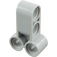 LEGO Medium Stone Gray Cross Block 2 X 3 with Four Pinholes (32557)