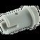 LEGO Medium Stone Gray Half Pin with Stud (4274)