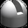 LEGO Medium Stone Gray Hinge Control Stick Base (4592)