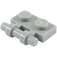 LEGO Medium Stone Gray Plate 1 x 2 with Handle (Open Ends) (2540)