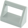 LEGO Medium Stone Gray Tile 1 x 2 with Handle (2432)